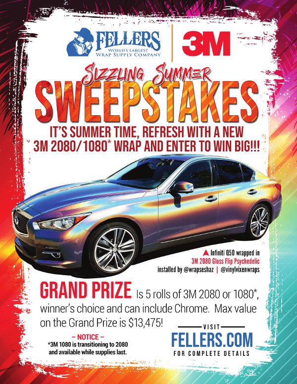 3M Sizzling Summer Sweepstakes